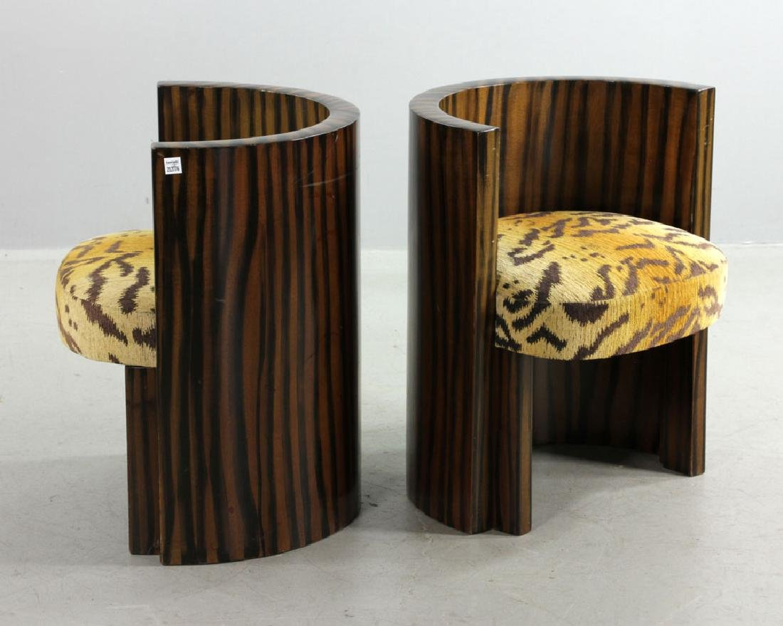 Pair of Art Deco Chairs - 2