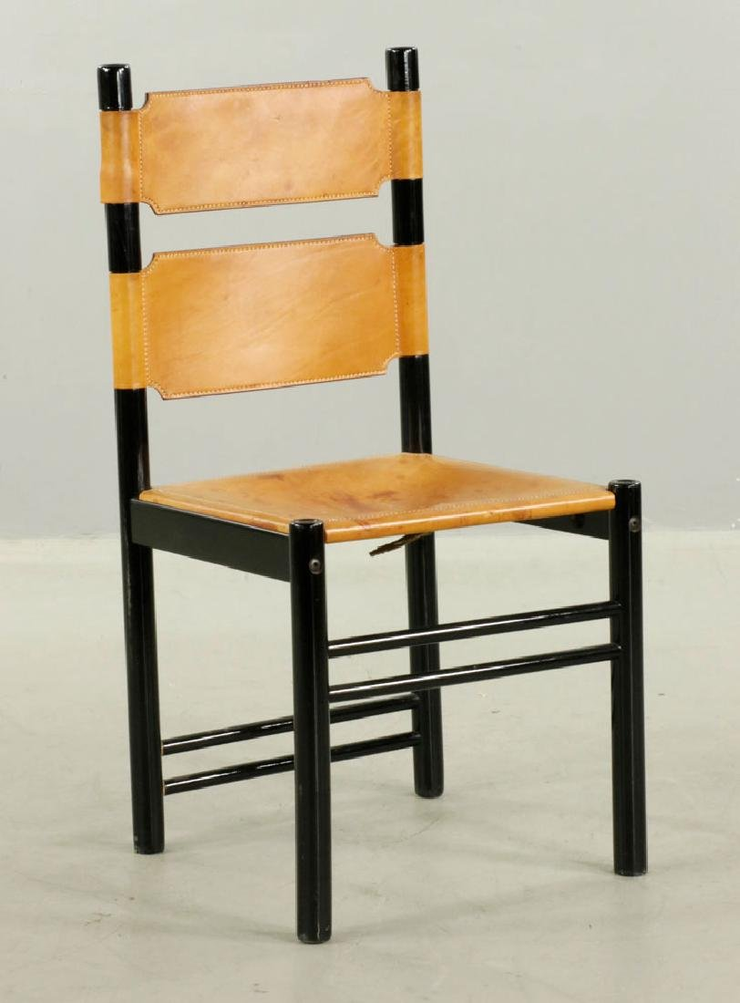 Set of Six Italian Modern Chairs - 2