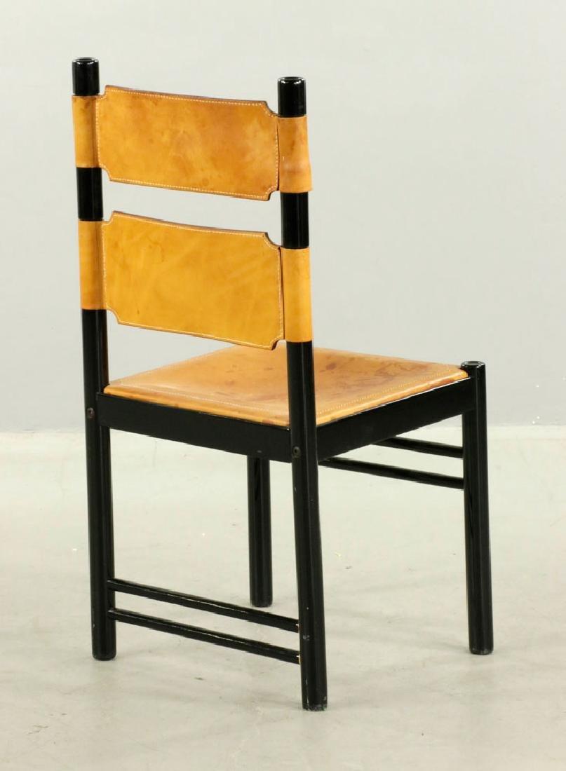 Set of Six Italian Modern Chairs - 3