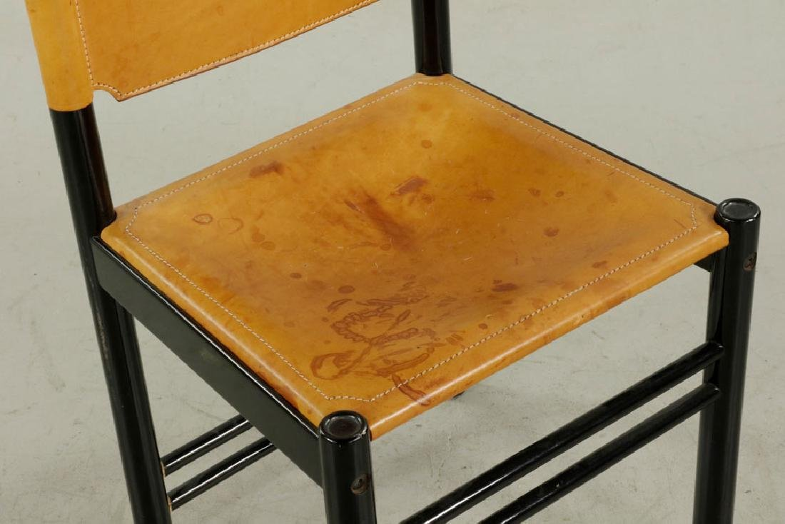 Set of Six Italian Modern Chairs - 4