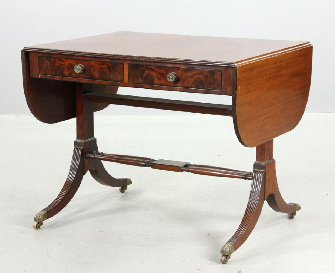 Fineberg Sheraton Drop Leaf Table