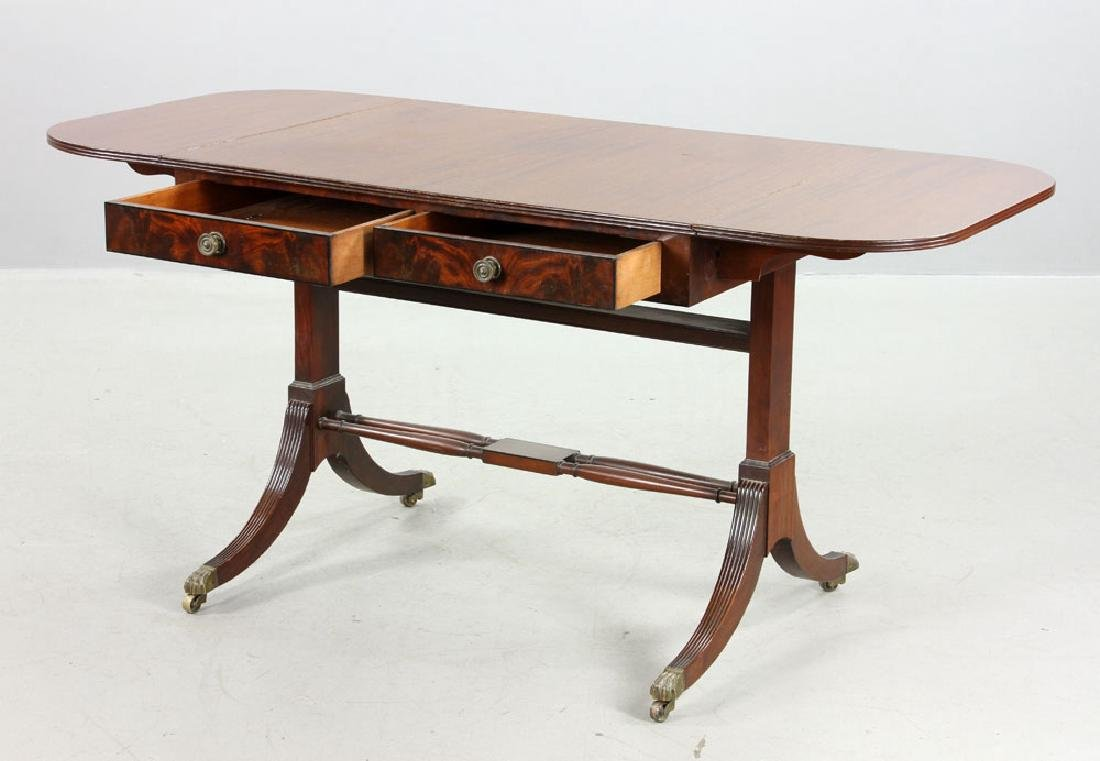 Fineberg Sheraton Drop Leaf Table - 2