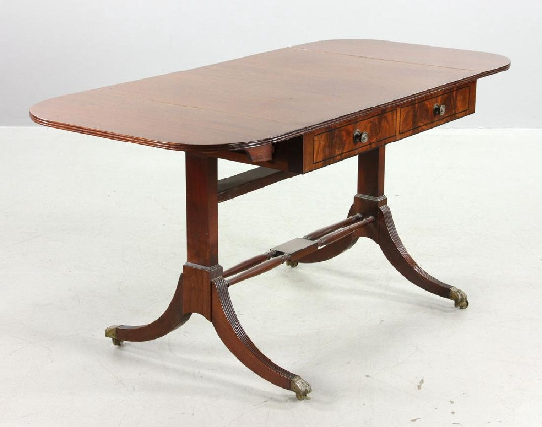 Fineberg Sheraton Drop Leaf Table - 4