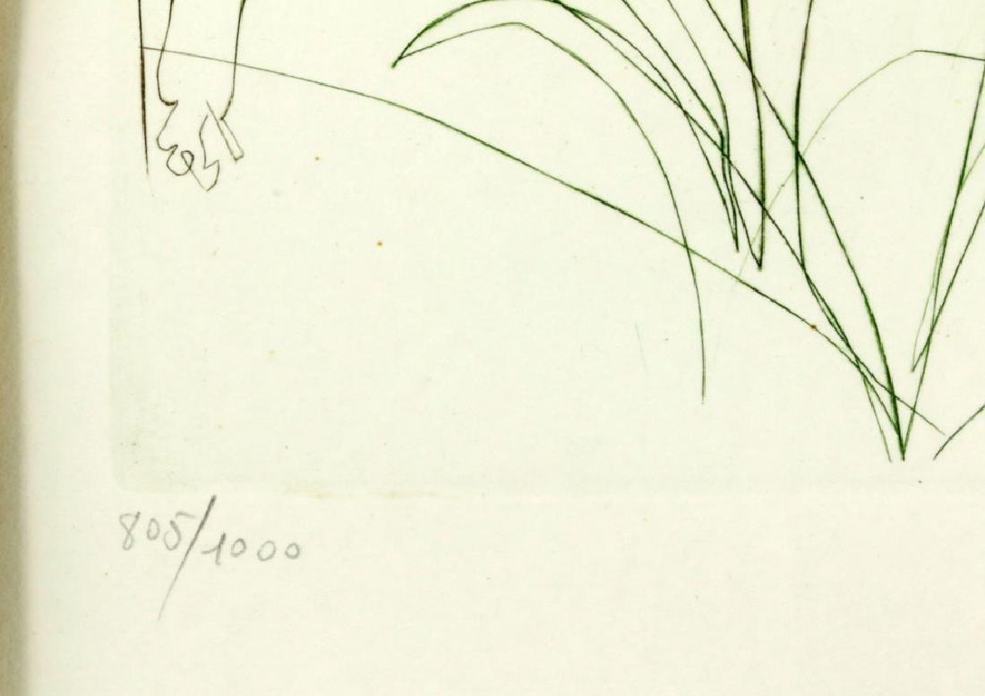 "Salvador Dali ""Adam & Eve"" Print - 5"