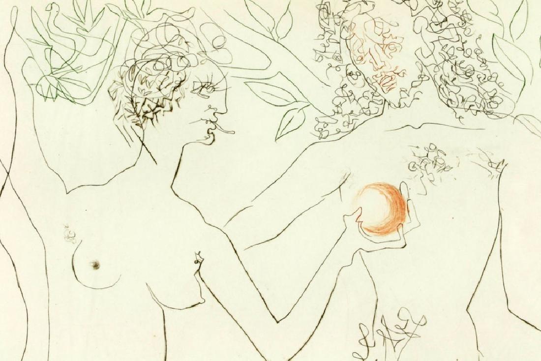 "Salvador Dali ""Adam & Eve"" Print - 6"