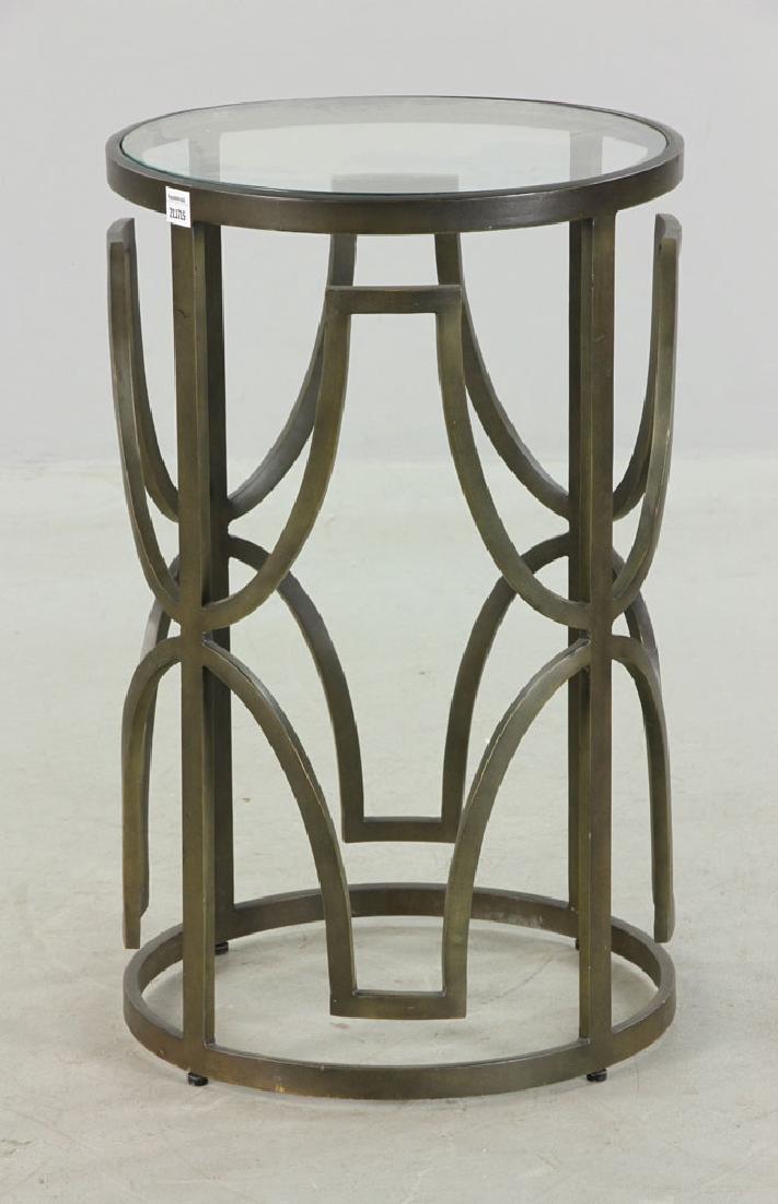Designer Round Cocktail Table - 2
