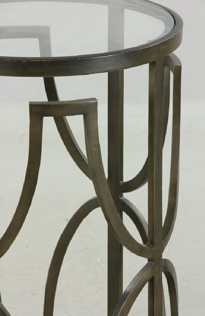 Designer Round Cocktail Table - 3
