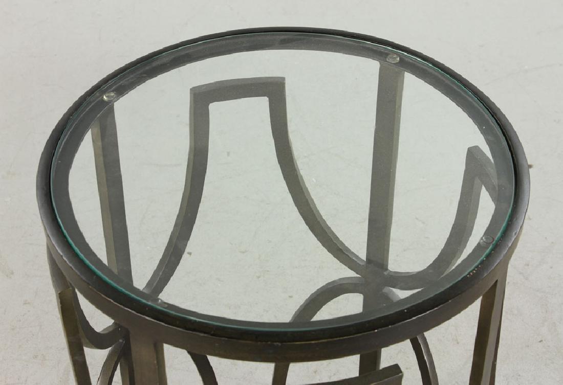 Designer Round Cocktail Table - 4