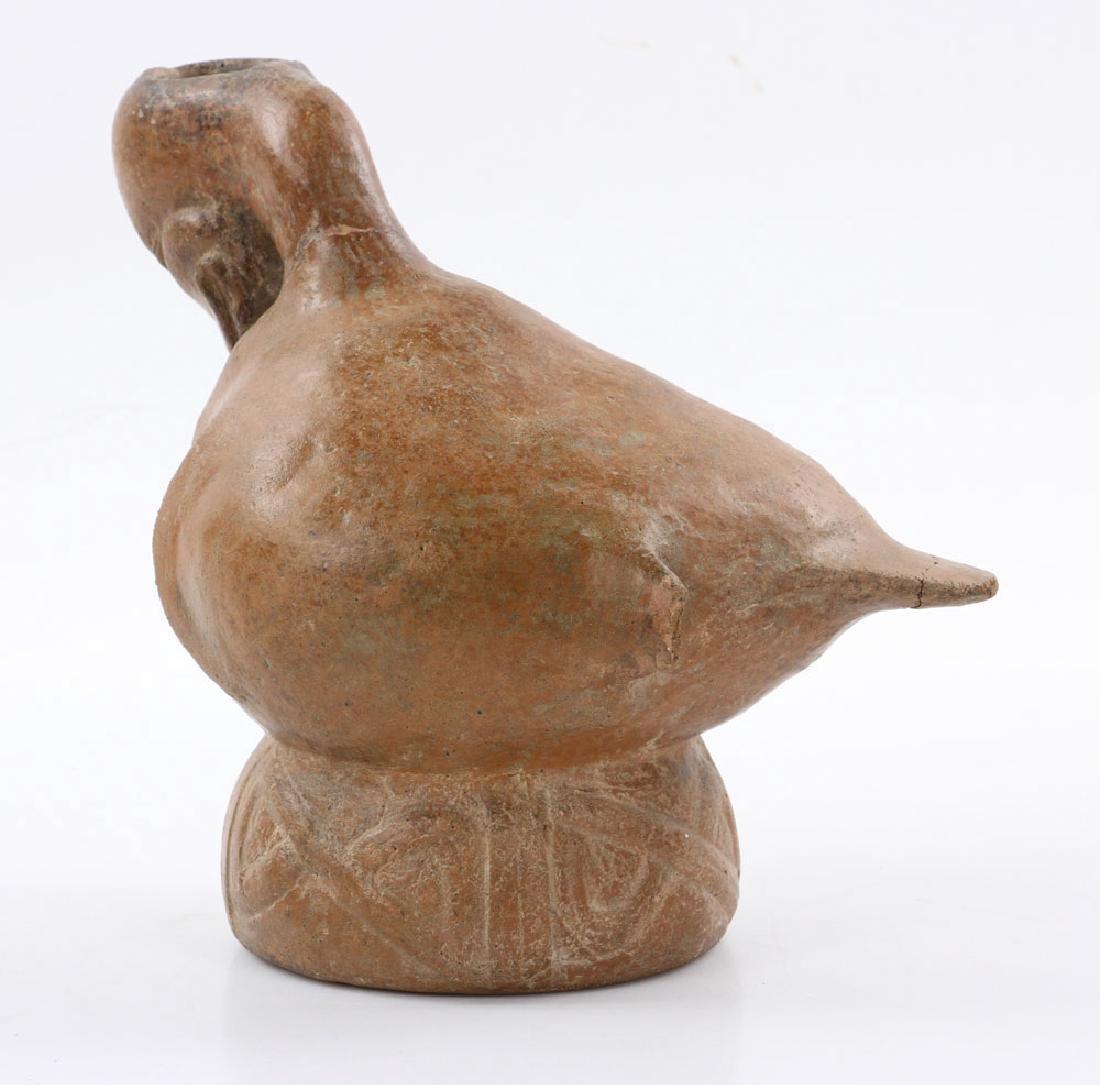 Pre-Columbian Duck Vessel - 3