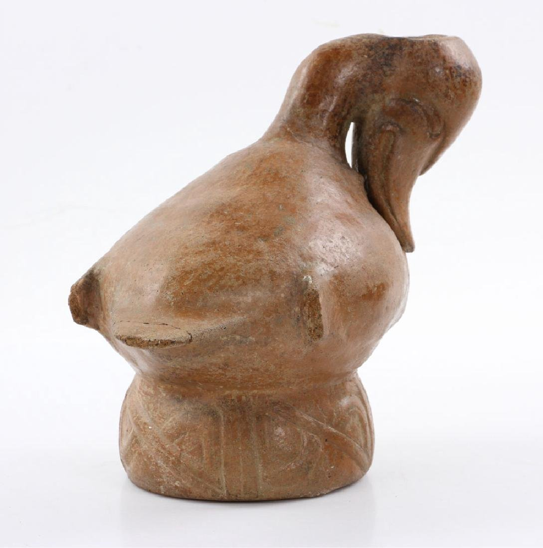 Pre-Columbian Duck Vessel - 4