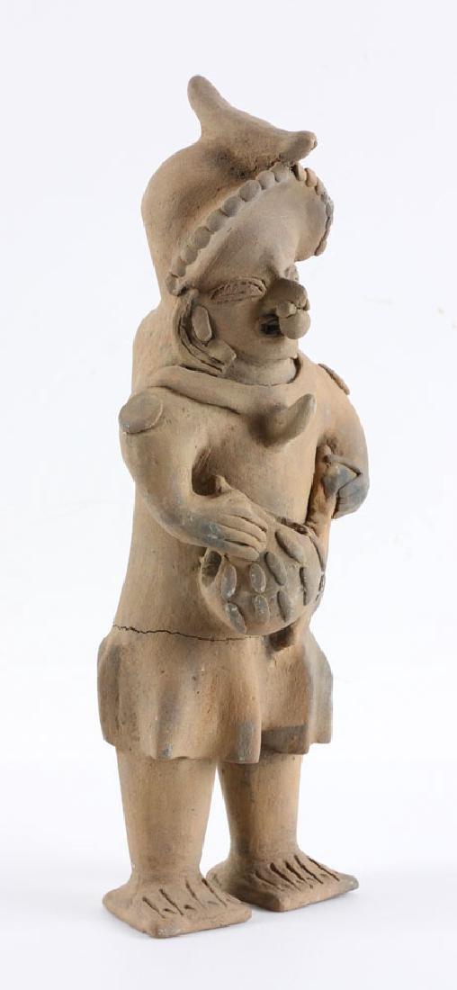 Pre-Columbian Pottery Figure - 2