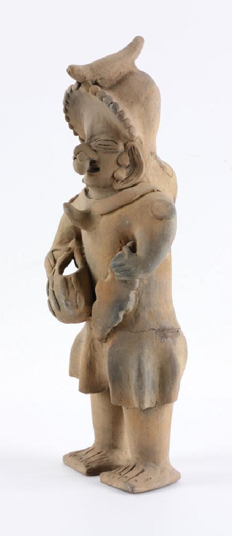 Pre-Columbian Pottery Figure - 3