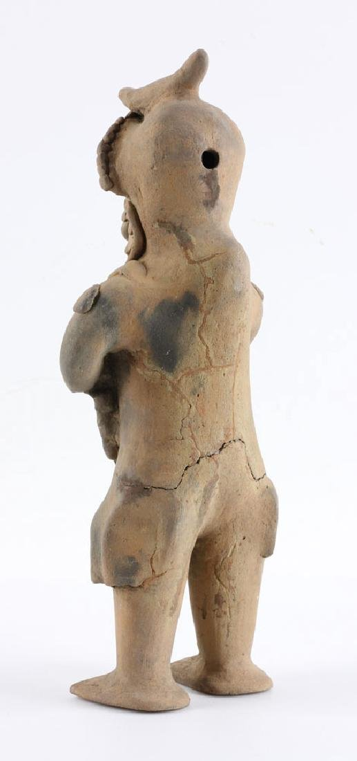 Pre-Columbian Pottery Figure - 4