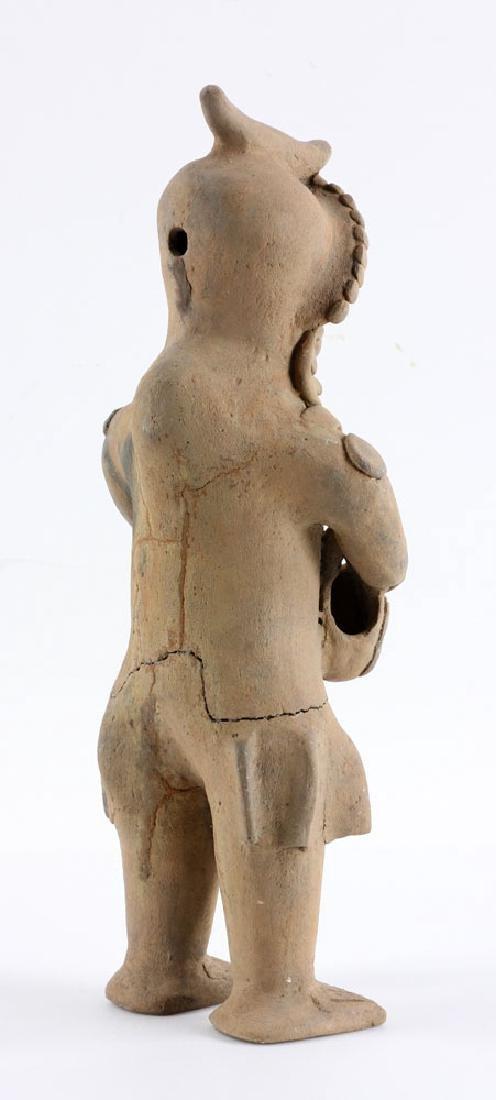 Pre-Columbian Pottery Figure - 5