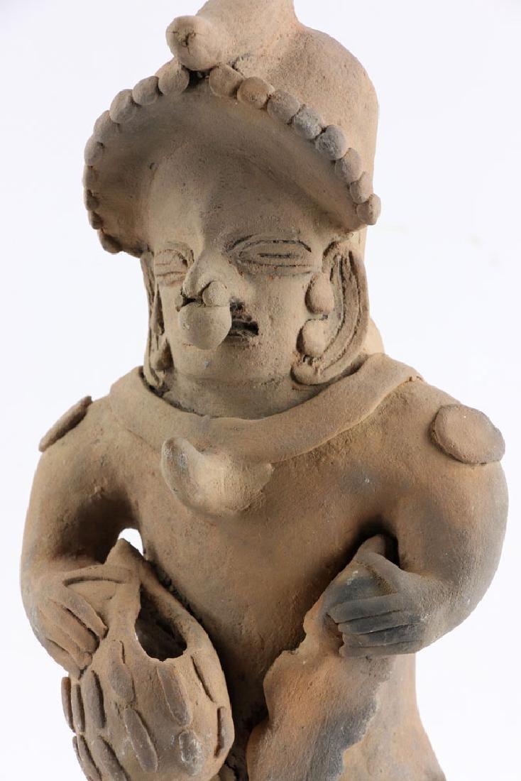 Pre-Columbian Pottery Figure - 6