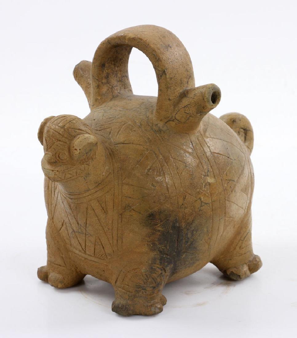 Pre-Columbian Monkey Vessel - 2