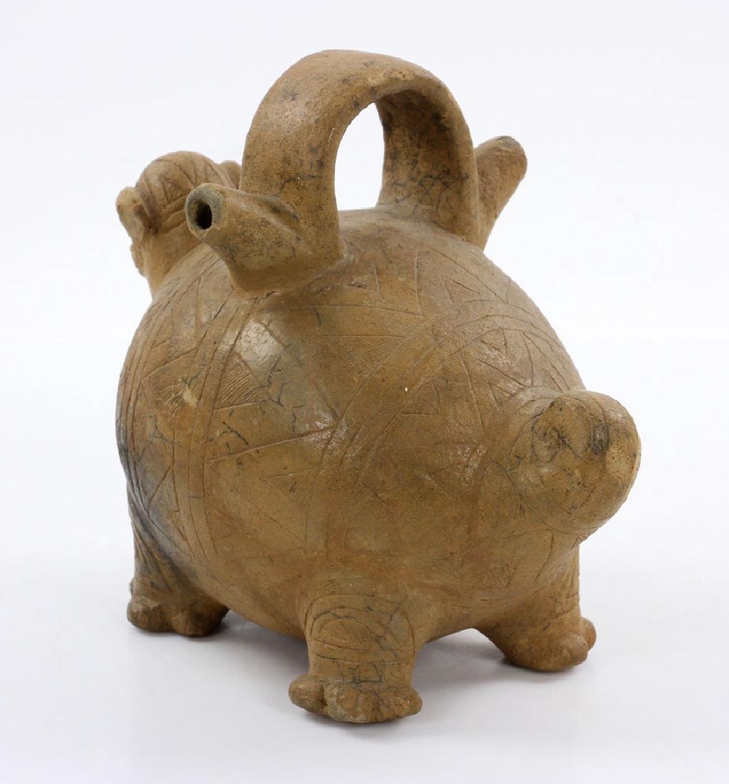 Pre-Columbian Monkey Vessel - 3