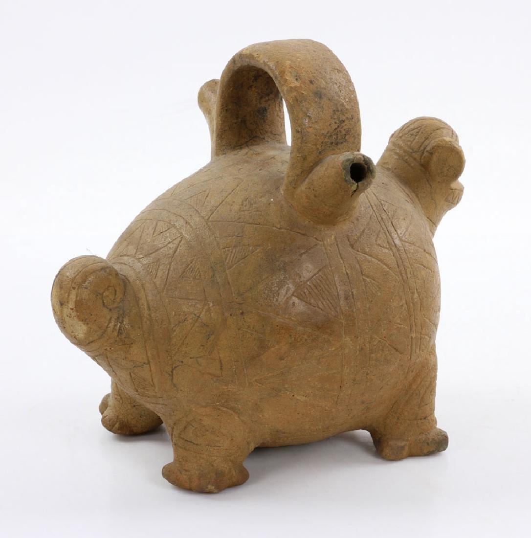 Pre-Columbian Monkey Vessel - 4
