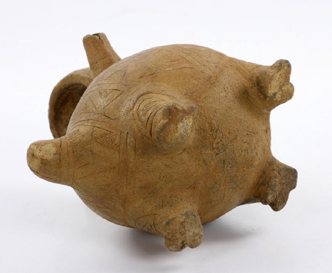 Pre-Columbian Monkey Vessel - 5