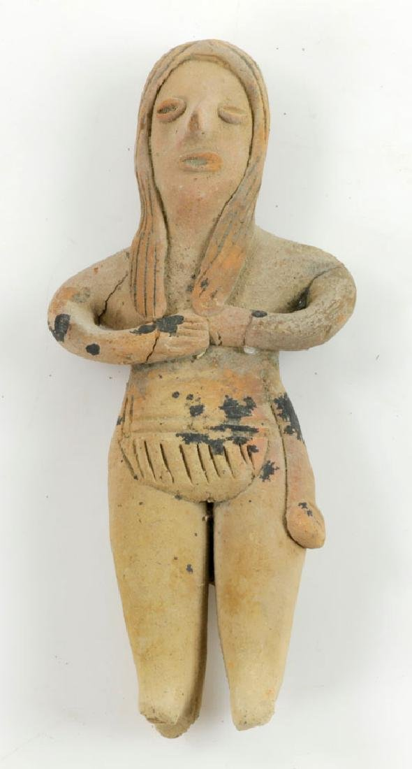 Eight Pre-Columbian Pottery Figures - 3
