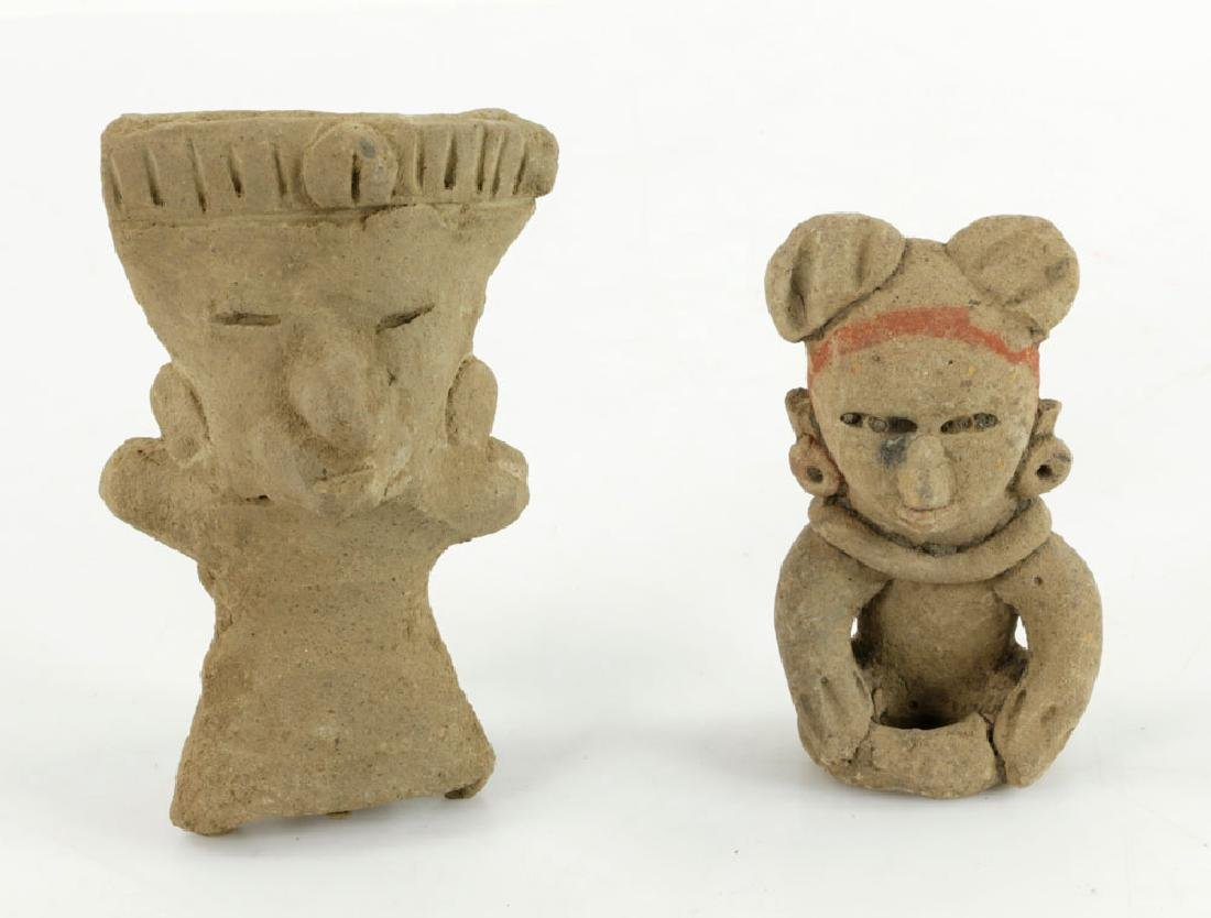 Eight Pre-Columbian Pottery Figures - 5