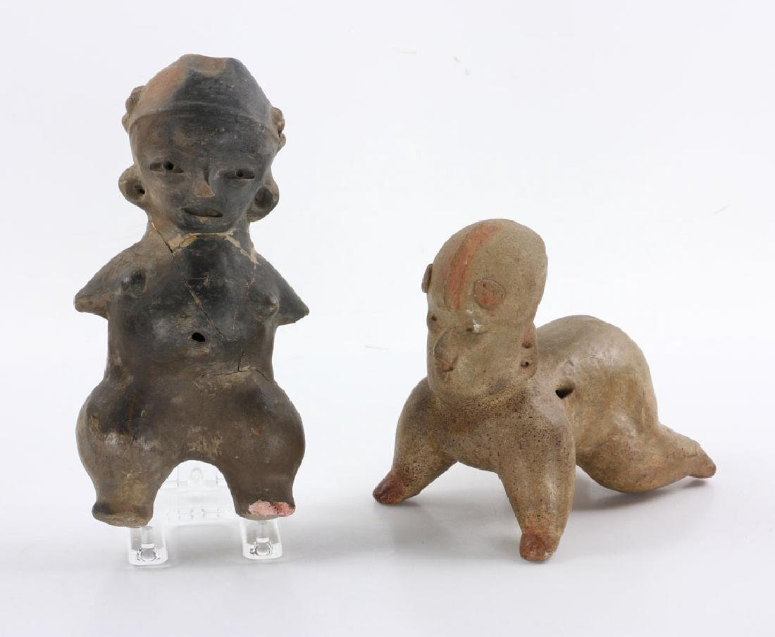 Two Pre-Columbian Figures