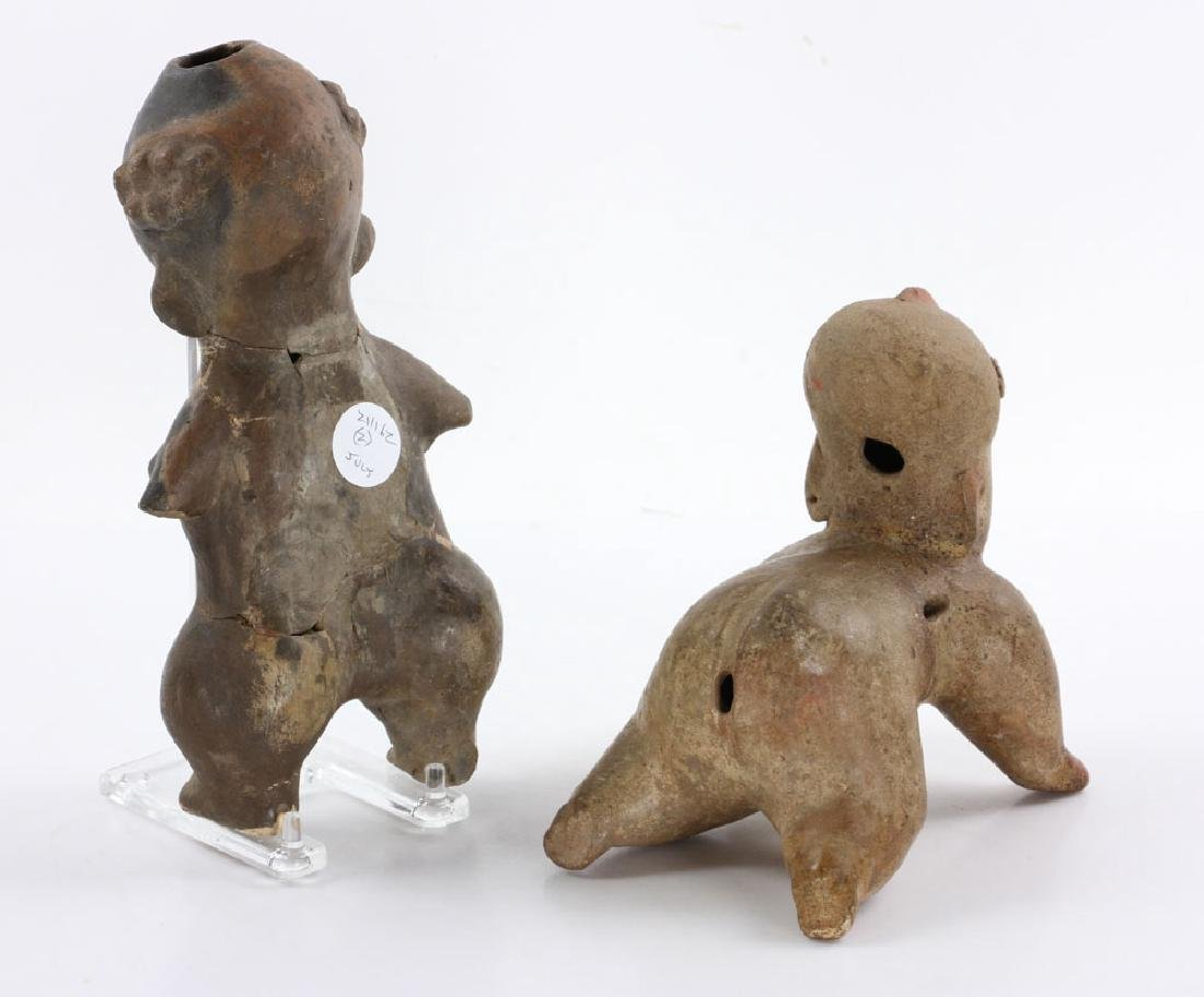 Two Pre-Columbian Figures - 3