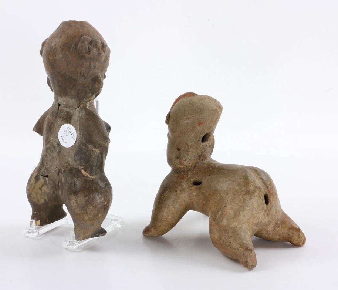 Two Pre-Columbian Figures - 4