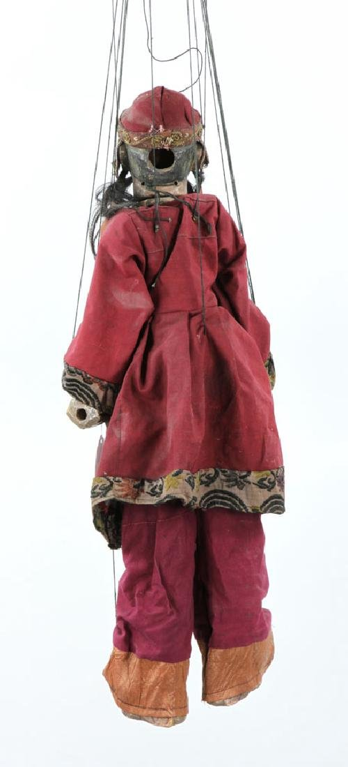 Two Burmese String Marionettes - 2