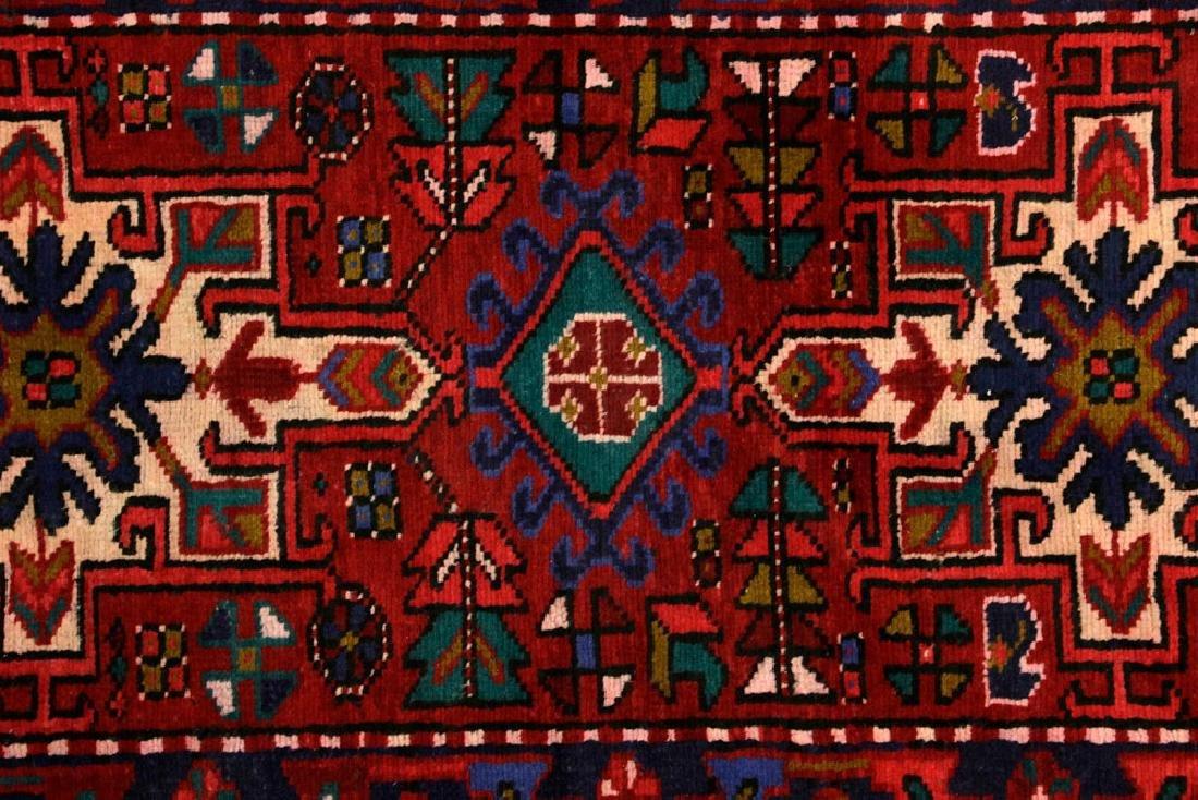 Semi-Antique Persian Heriz Carpet - 2