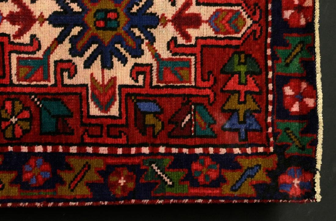 Semi-Antique Persian Heriz Carpet - 3