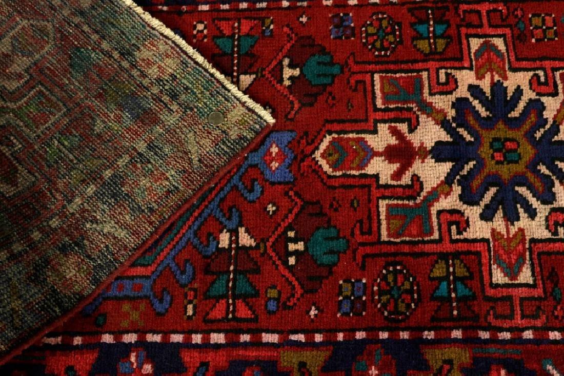 Semi-Antique Persian Heriz Carpet - 4