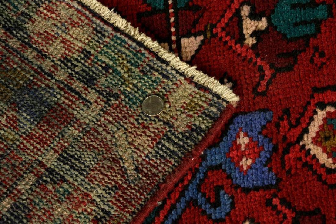 Semi-Antique Persian Heriz Carpet - 5