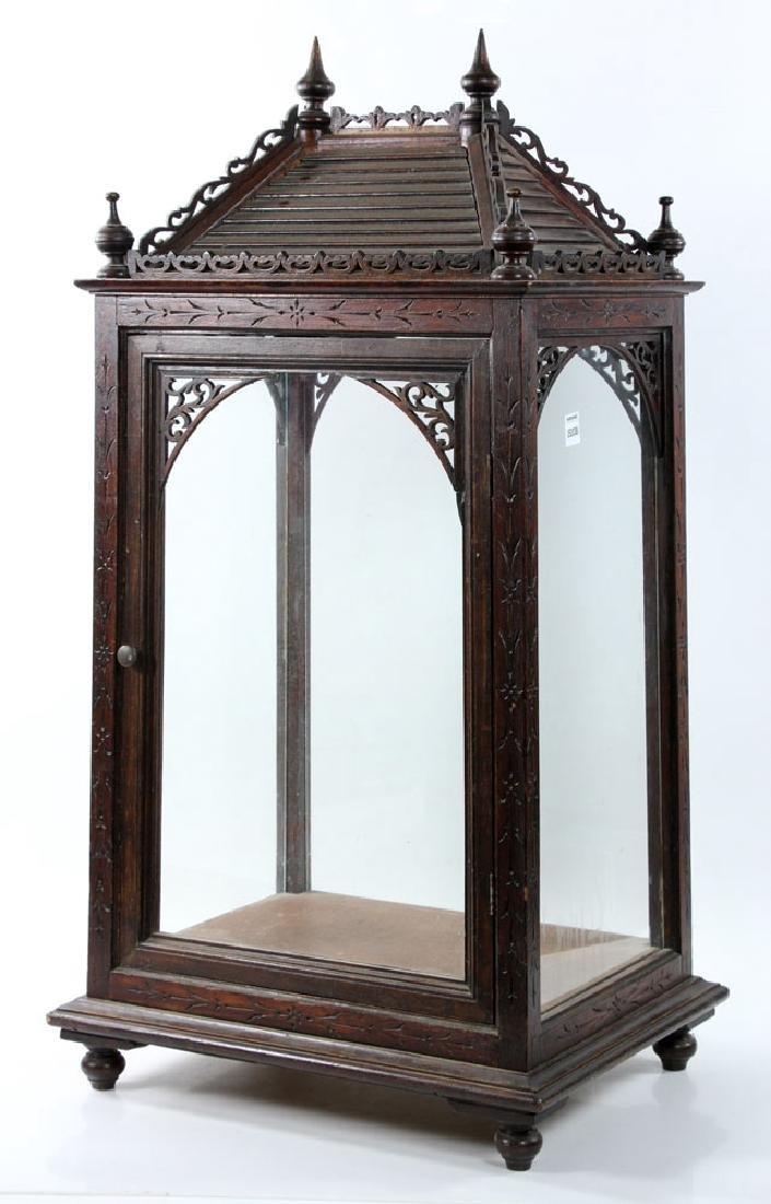Victorian Display Cabinet