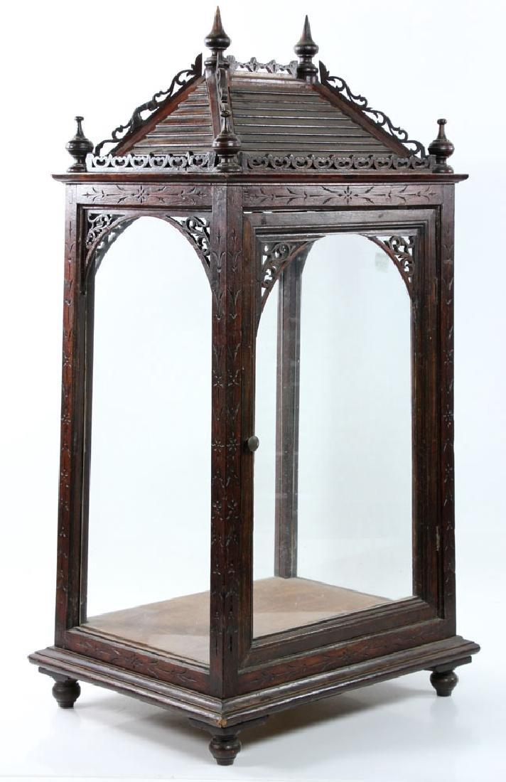 Victorian Display Cabinet - 2