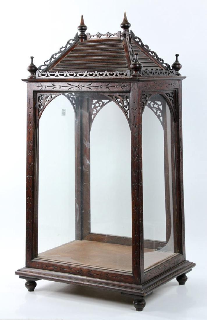 Victorian Display Cabinet - 3