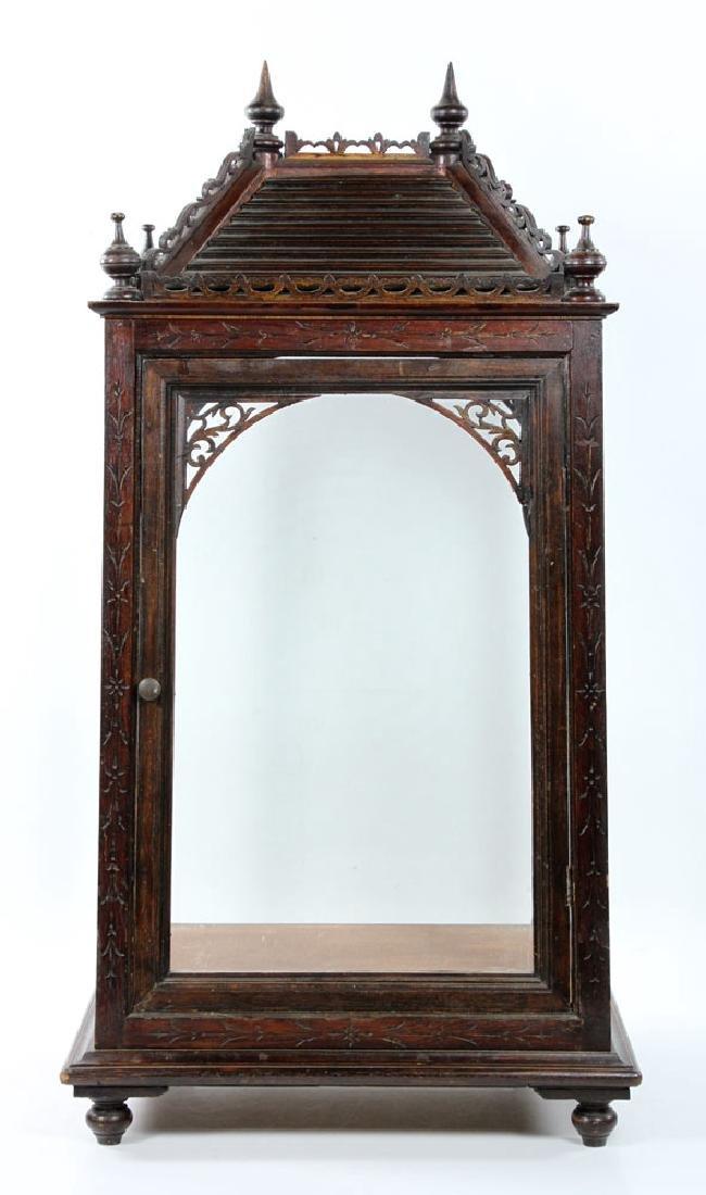 Victorian Display Cabinet - 4