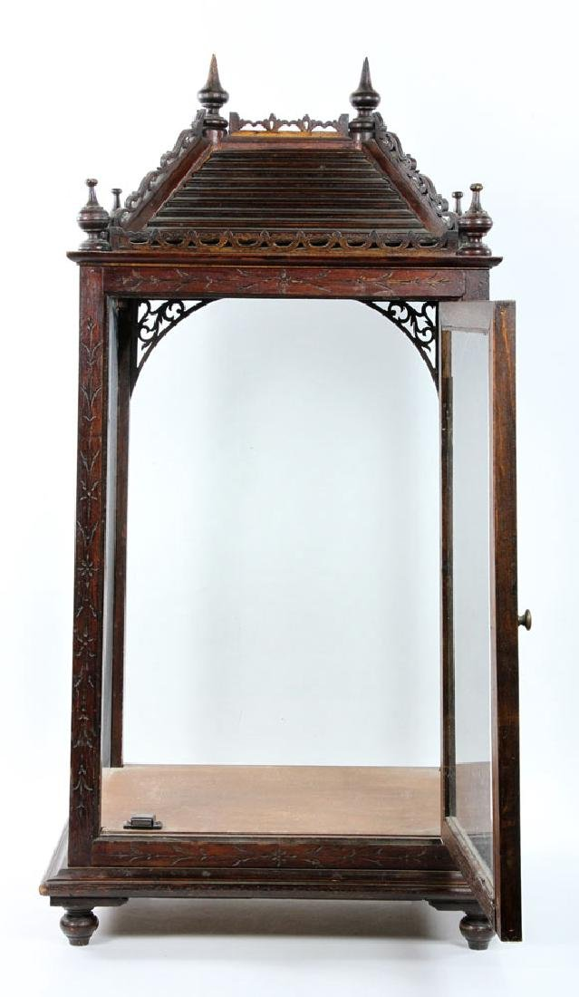 Victorian Display Cabinet - 5