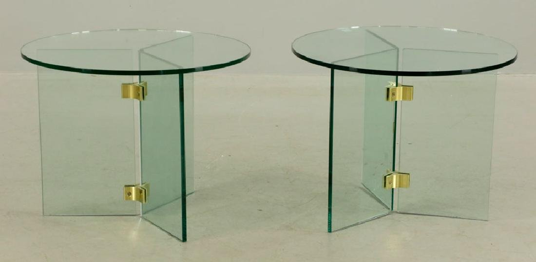 Pair of Mid-Century Modern Tables