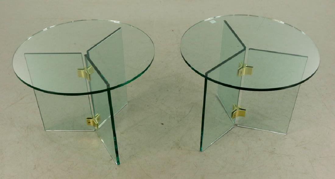 Pair of Mid-Century Modern Tables - 2