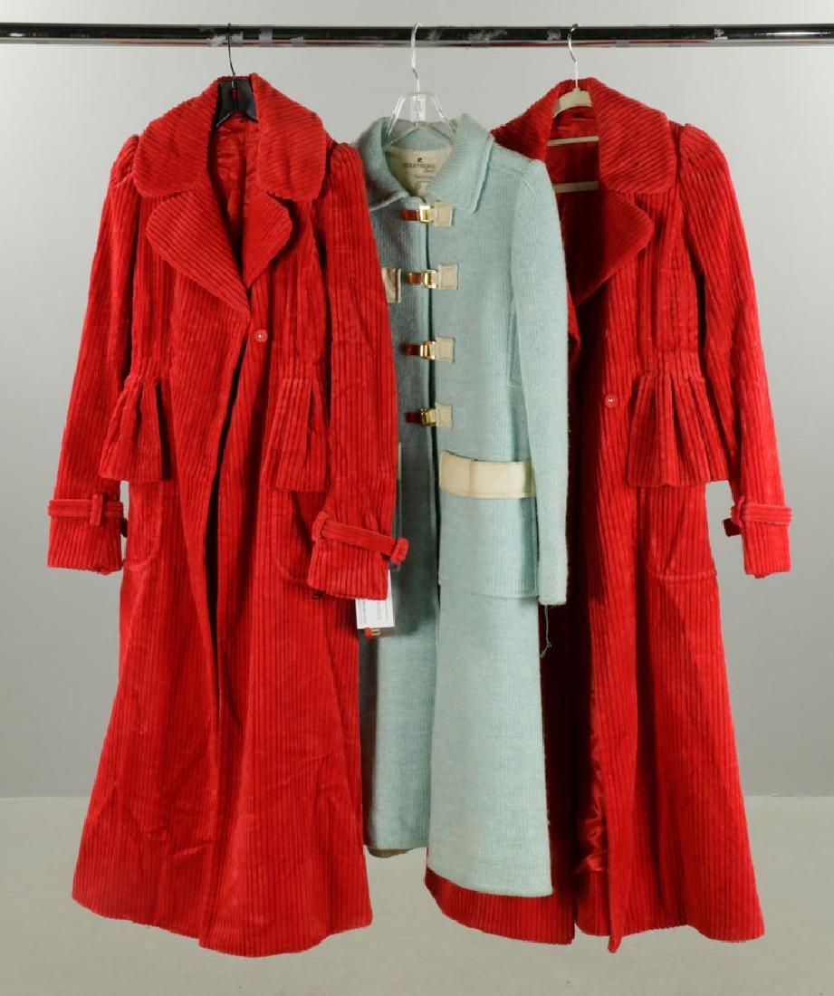 Three Vintage Coats