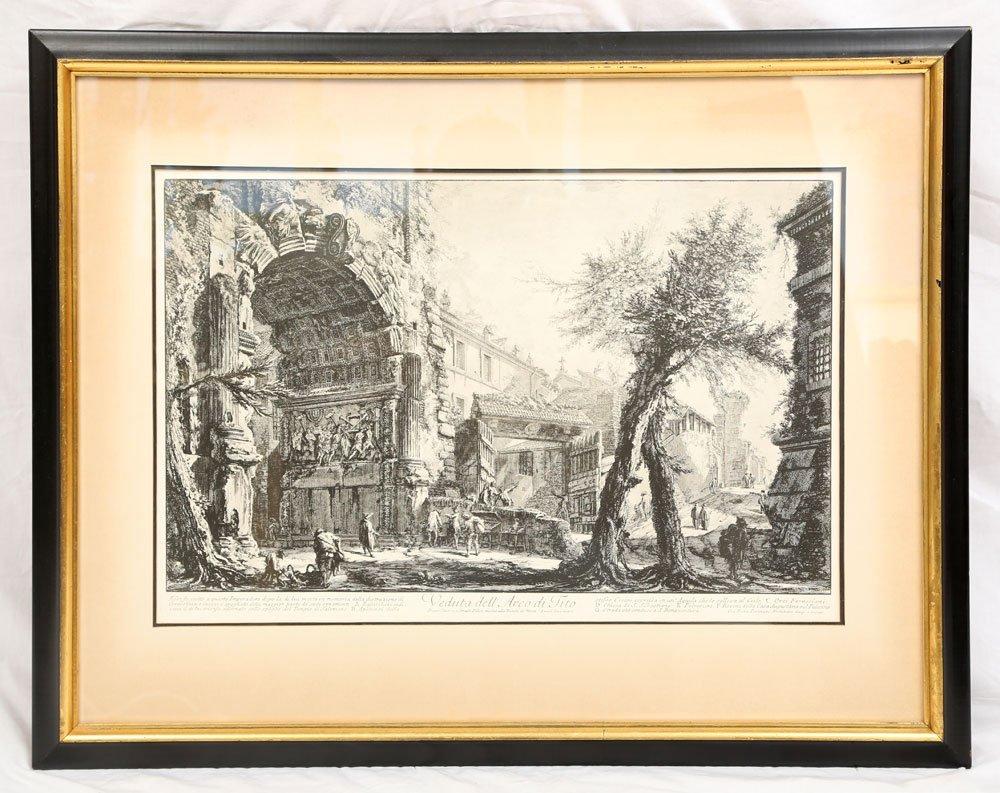 """Piranesi, """"Arco di Tito,"""" Print"""