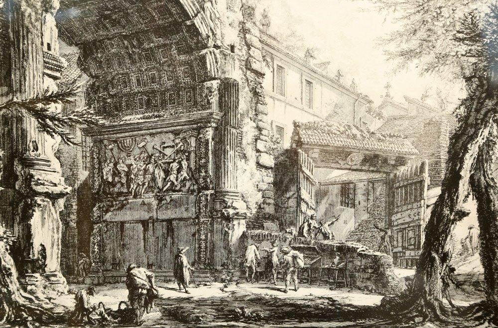 """Piranesi, """"Arco di Tito,"""" Print - 2"""