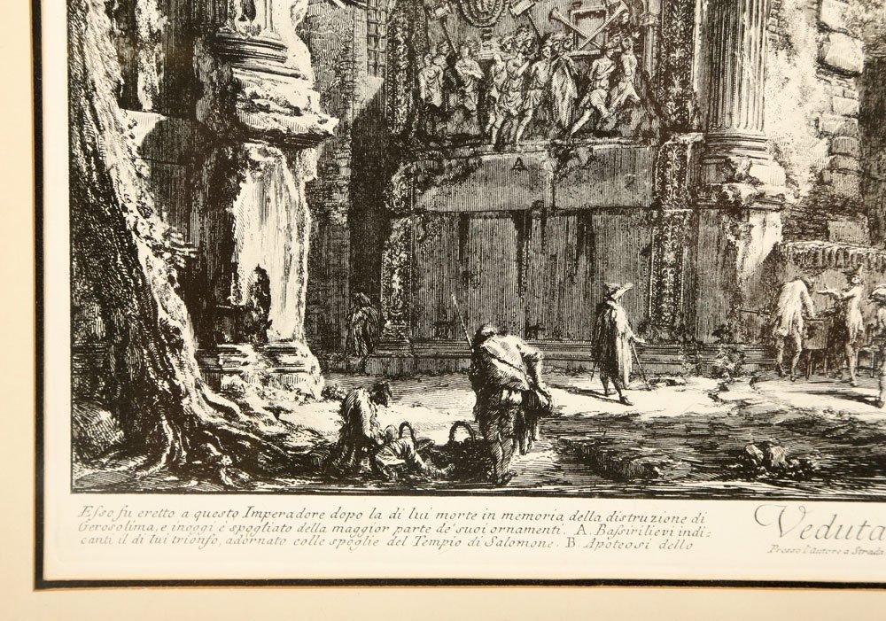 """Piranesi, """"Arco di Tito,"""" Print - 4"""