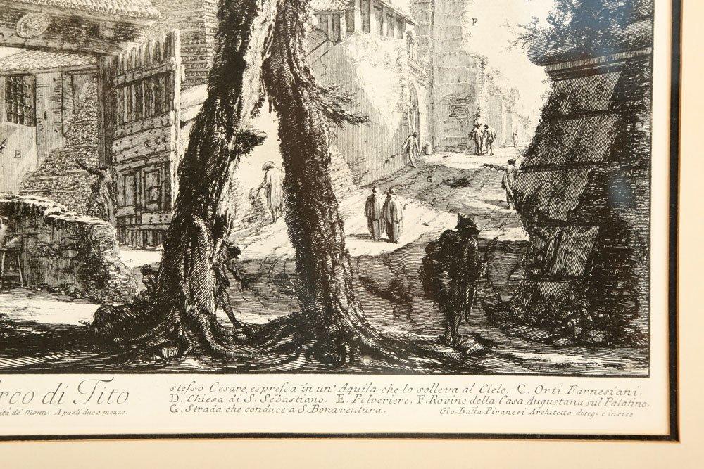 """Piranesi, """"Arco di Tito,"""" Print - 5"""