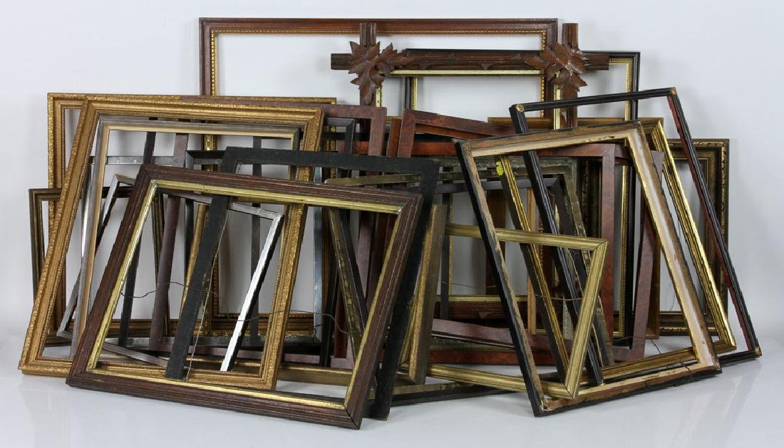 Large Group of Picture Frames
