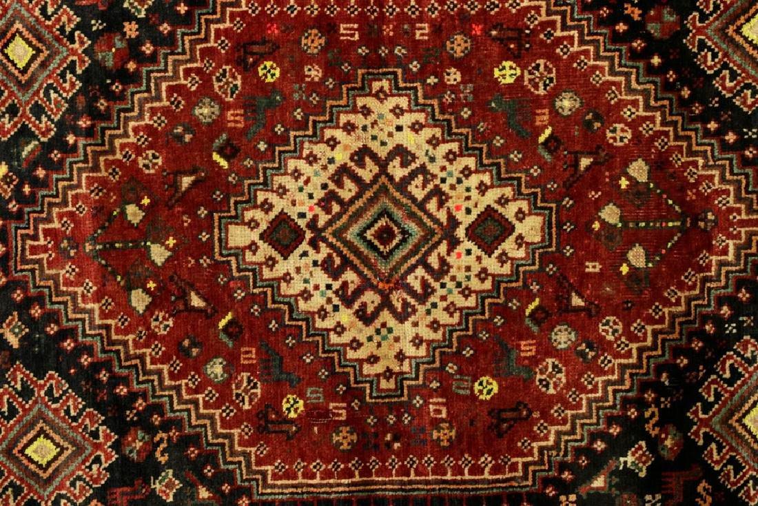 Semi-Antique Persian Sheriz Carpet - 2