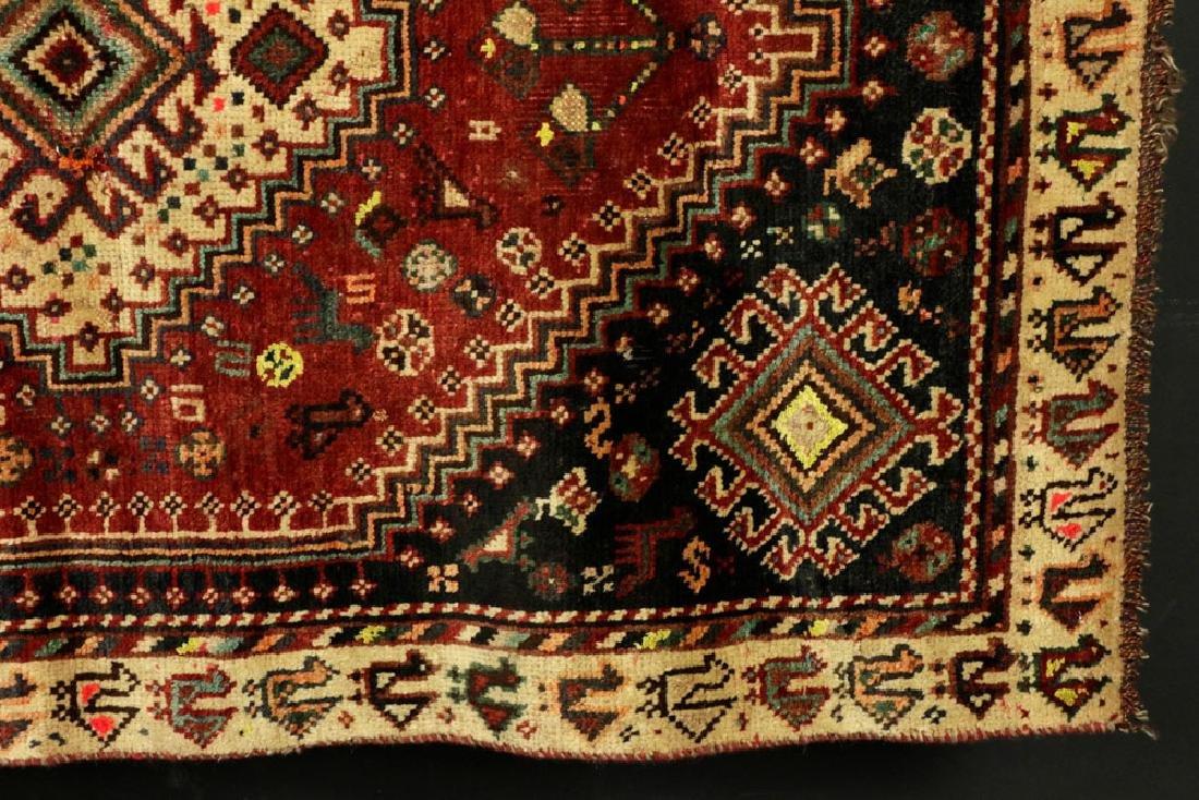 Semi-Antique Persian Sheriz Carpet - 3