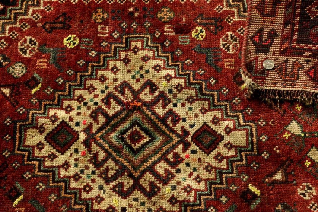 Semi-Antique Persian Sheriz Carpet - 4