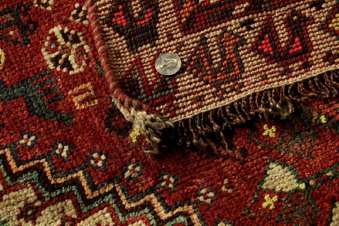Semi-Antique Persian Sheriz Carpet - 5